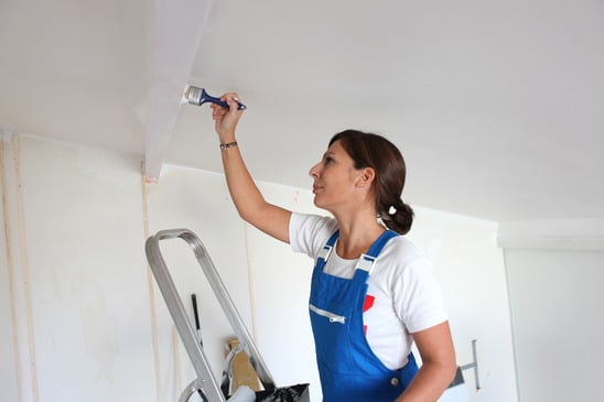Don't Forget Your Ceiling When Painting a Room