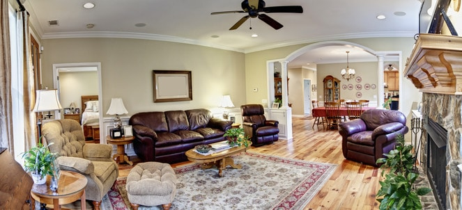 Paint Advice: How To Paint Adjoining Living Room And
