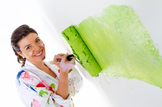 For Painting Interior Rooms