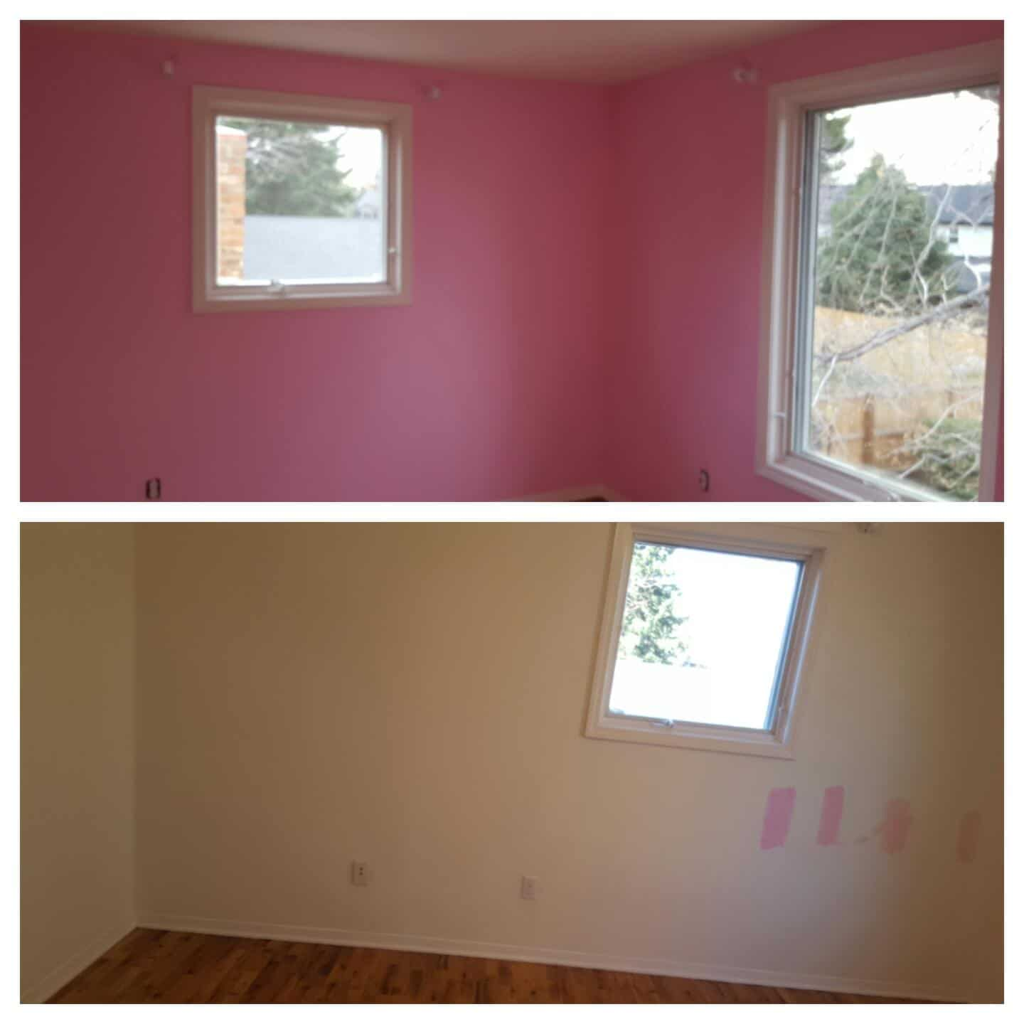 Interior Wall Painting Before After Paint Denver Painting Company