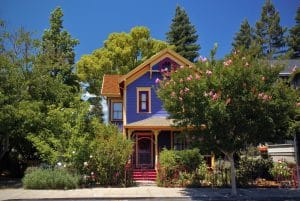 landscaping victorian homes