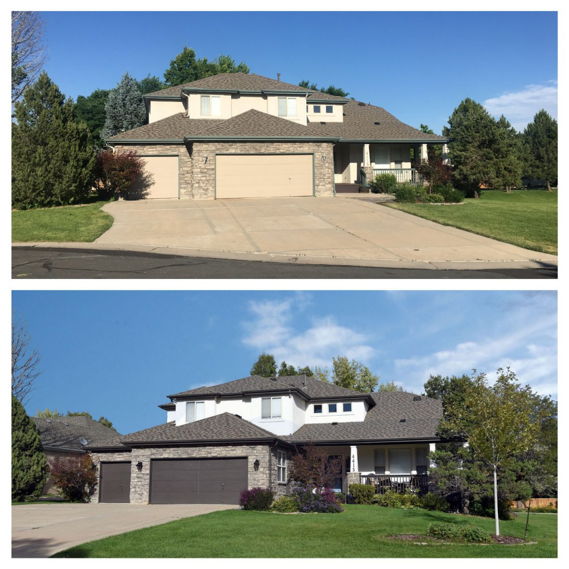 House Painting Before and After Paint Denver House Painting Projects