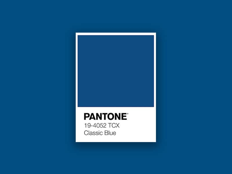 pantone color of the year classic blue 2020