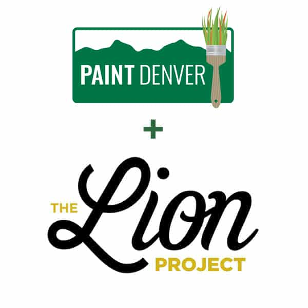 painter denver partnered with the lion project