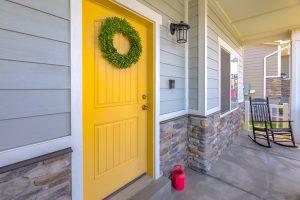 exterior home painting job